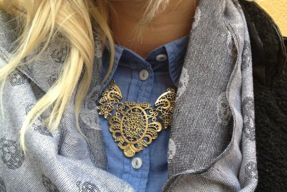 Kette gold Blogger