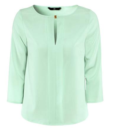 H&M Bluse mint