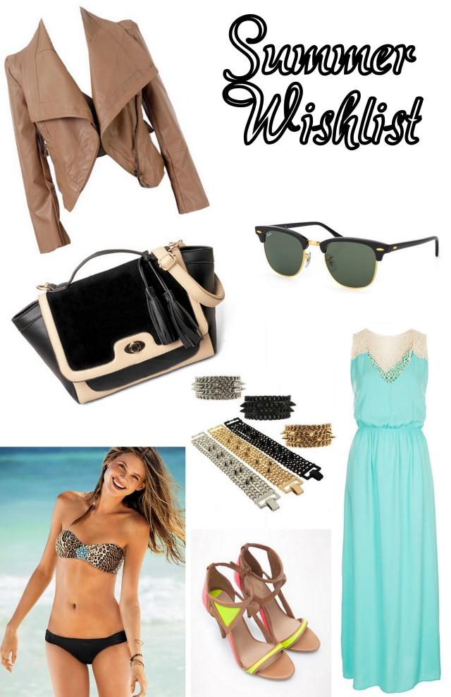 Summer Wishlist 2013