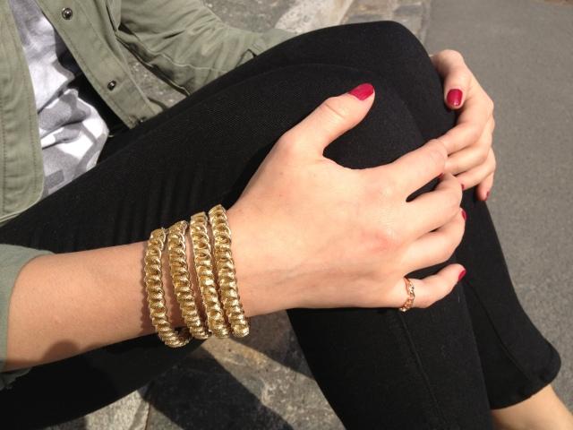 Mango gold Bracelet