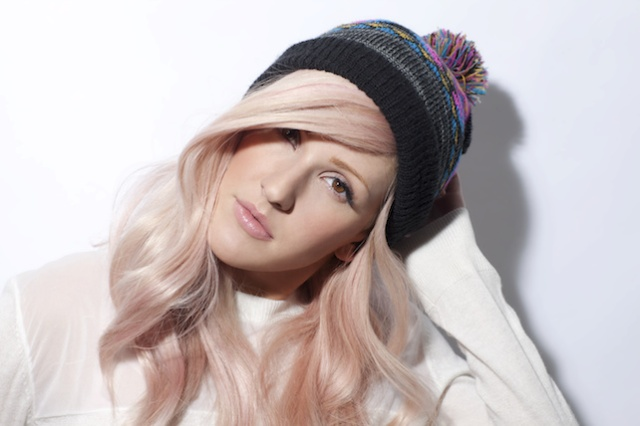 elli golding pastel hair rose